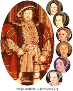 Henry VIII and his 6 wives--Divorced, beheaded, died; Divorced beheaded survived