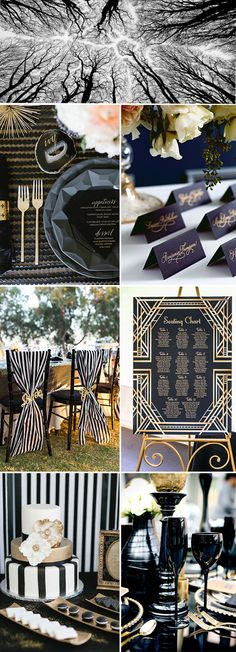 black wedding color ideas for 2017