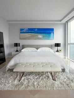 Feng Shui Schlafzimmer einrichten Wanddeko Ideen