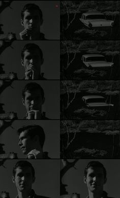 Anthony Perkins In Psycho.