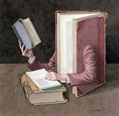 "Jonathan Wolstenholme illustrations  - ""Jonathan Wolstenholme is a British artist and illustrator best known for his amazingly detailed works deriving from a love of old books. ...Jonathan Wolstenholme combines his appreciation of surrealism, his fondness for antiquarian books, and his wry humor in creating his clever and engaging anthropomorphic images."""