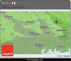 awesome Map of Noda