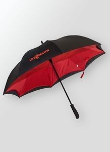 Corporate Gifts Ideas     Reverse Open Umbrella. NEW, inverted style umbrella with colored interior. 48″ arc fashion style umbrella with pongee fabric. Reverse open keeps you dry when umbrella is wet. Easier for getting into a car, home, or office. Umbrella closes away from you. 48″...
