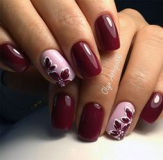 Beauty Nails – DIY nail designs # nail polish # gel nails # nail design # nail designs Cute 🍒❤️🍒 Trendy Stunning Manicure Ideas For Short Acrylic Nails Design Save MK so as not to lose … … Red autumn nails – – … Burgundy Nails, Pink Nails, Red Burgundy, Red Gel Nails, Fancy Nails, Pretty Nails, Nagel Blog, Autumn Nails, Nail Swag