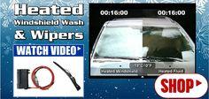 Heated Windshield Wash & Wipers   Iowa80.com Semi Truck Accessories