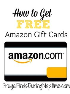 How I Earn Free Gift Cards Every Month | Free gift cards, Free ...