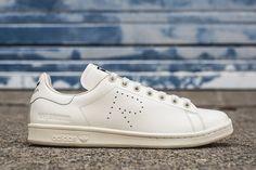 Raf Simons' adidas Stan Smith Releases in White for Spring - EU Kicks: Sneaker Magazine
