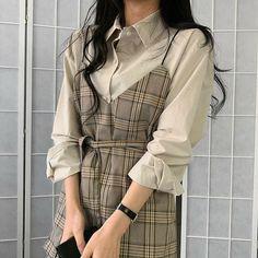 Balbina blouse dress vintage outfits korean girl