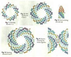 circular peyote bracelet