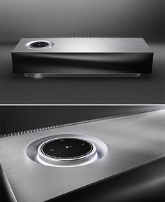 Naim Muso. High-end British audio specialist Naim builds sound systems for Bentley and also for your home. Their wireless streaming Muso system offers class-leading sound quality using 6 speakers & 6 75-watt amps, one for each driver. A 32-bit signal processor splits the music up & sends it to the best driver based on frequency for optimal quality and fidelity. The unit itself is made from a single block of aluminum. Available September 2014. $1500