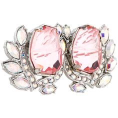 Pre-owned Mawi Pink Double Flower Ring (200 CAD) ❤ liked on Polyvore featuring jewelry, rings, bezel set ring, mawi jewelry, flower jewelry, floral jewelry y pre owned rings