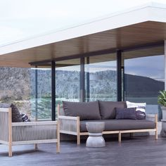 Influenced by contemporary Italian design, the Architect range is sure to stand the test of time in your outdoor sanctuary. Indoor Outdoor Living, Outdoor Sofa, Outdoor Spaces, Outdoor Furniture Sets, Outdoor Decor, Outdoor Ideas, Interior Design Services, New Builds, New Homes
