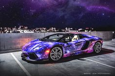 Galaxy-Wrapped Lamborghini Aventador Roadster Galaxy-Wrapped Lamborghini Aventador Roadster Related Post Top 20 Fastest Cars in the World [Best Picture Fas. VANTAGE Jaguar Classic Car Gallery # Jaguar Classics Any other Aventador fans here ? Lamborghini Aventador Roadster, Lamborghini Photos, Huracan Lamborghini, Custom Lamborghini, Ferrari, Maserati, Bugatti, My Dream Car, Dream Cars