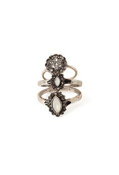 Petal Midi Ring Set | Forever21 - 1000056612