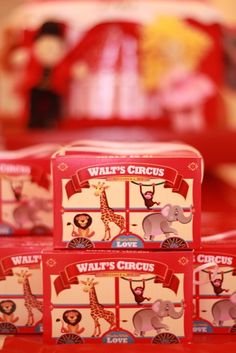Circus Party Favors #circus #partyfavors    Awe i Love the Nostalgia of these soo Much!!