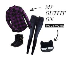 """""""I would wear this on Saint Row"""" by oath-50 on Polyvore featuring Frame Denim, Harley-Davidson and Rupert Sanderson"""
