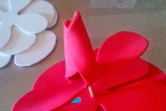 318375592ea 73 mejores imágenes de adornos de goma eva