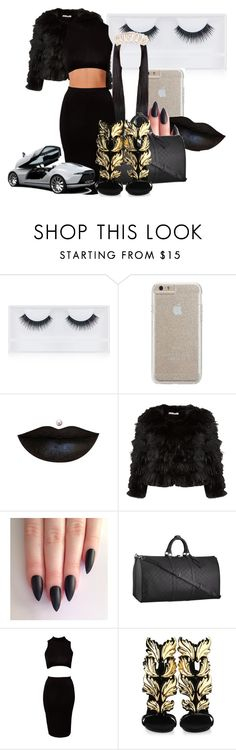 """Birthday Girl-Naomi❤️"" by blueblessed ❤ liked on Polyvore featuring Georgie Beauty, Case-Mate, Alice + Olivia, Louis Vuitton, Club L, Giuseppe Zanotti and TIARA"