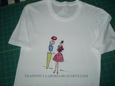 Camisetas bordadas