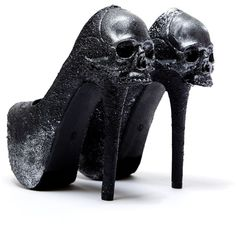 Zombie Peep Show 'Purgatory black, pump (€145) ❤ liked on Polyvore featuring shoes, pumps, heels, peep toe pumps, black peep toe shoes, black shoes, black court shoes and kohl shoes