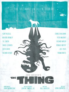 Poster alternatif - The thing