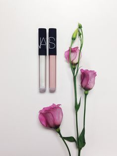 We love Nars! Nars Lip, Lipgloss, Lipstick, Flat Lay Photography, Makeup Photography, Product Photography Tips, Cosmetic Photography, All Things Beauty, Beauty Make Up