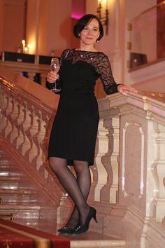 Wochenende in Salzburg und Besuch im Casino auf Schloss Klessheim im schwarzen Kleid