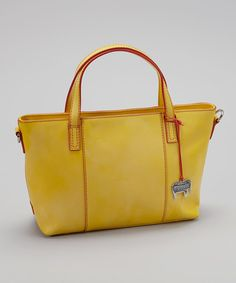 Take a look at this Mywalit Lemon Grab Handle Tote on zulily today!