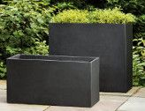 Fusion Collection Tall Rectangular Planters