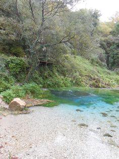 Syri I Kalter. natural spring.