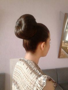 Chignon Updo, Ponytail, Updos, Sock Buns, Donut Bun, Big Bun, Elegant Updo, Long Locks, Super Hair