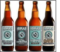 Ninkasi beer from Oregon