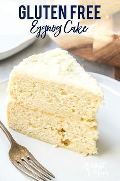 Have you been looking for the perfect dessert this holiday season? Well, look no further! This eggnog cake is the perfect mix of a beloved holiday drink and everyone's favorite kind of dessert (cake!). With its' creamy eggnog flavor, white chocolate ganache, and whipped cream frosting you won't believe that it's also gluten free! Try making this amazing cake to get you in the holly jolly mood this season!