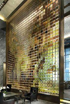 Screen | Resin Tile | Conrad Hotel, Beijing | Jane Cowie