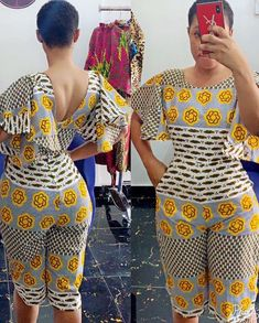 Beautiful And lovely Plain And Patterned Ankara Designs 2019 - Women's style: Patterns of sustainability African Dresses For Kids, African Wear Dresses, African Fashion Ankara, Latest African Fashion Dresses, African Inspired Fashion, African Print Fashion, African Attire, African Style, African Print Jumpsuit
