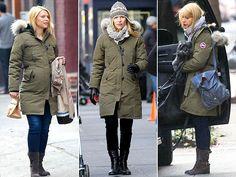 Anna Kendrick style, Alessandra Ambrosio street style. Canada goose kensingtonCanada ...