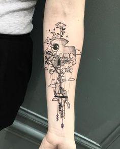 7d0d41df1 Circuit Tattoo, Anne Lise, Black White Tattoos, Leg Tattoos, Cool Tattoos,