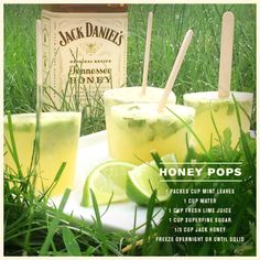 HONEY POPS! Stay cool with the Honey drink that's not really a drink.