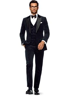 Suit Blue Plain Smoking P4764i | Suitsupply Online Store
