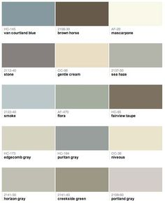 60 of Candice Olsons favorite Benjamin Moore paint colors Home