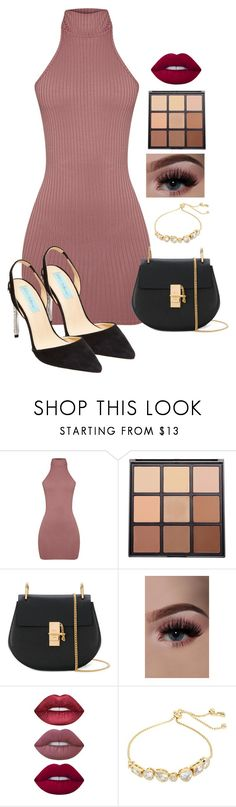 """""""Cute"""" by bitty-junkkitty ❤ liked on Polyvore featuring Morphe, Chloé, Lime Crime and Betsey Johnson"""
