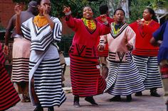 dancers in Gold Reef City, Johannesburg, South Africa