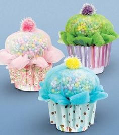 Cupcake Party Favors: For Babies & Kids: Kids & Teens Projects: Shop | Joann.com