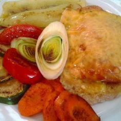 Óvári csirkemell sült zöldségekkel Recept képpel -   Mindmegette.hu - Receptek