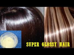 Get super Silky & Glossy & Soft Hair in 1 day | DIY Hair Mask - Deep Conditioner - YouTube