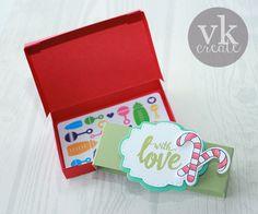 VK Create: MCT Tutorial Thursday: Gift Box Card Holder