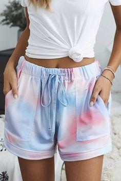 Comfy Shorts, Lounge Shorts, Casual Shorts, Look Casual Chic, Casual Looks, Pyjamas, Short Court, Shorts With Pockets, Pocket Shorts