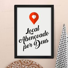 Quadro com poster Local Abençoado por Deus                                                                                                                                                                                 Mais Vintage Jeep, Cool Birthday Cakes, Blackboards, Classroom Decor, Decoration, Hand Lettering, Sweet Home, Wallpaper, Inspiration