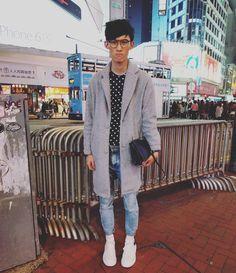 mean muggin  #trendy4tmrw #fashion #mensfashion #streetstyle #fashionphotography #hongkong #hongkongfashion