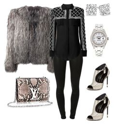 """Untitled #280"" by sanchez-drummond ❤ liked on Polyvore featuring Tom Ford, Isabel Marant, J Brand and Rolex"